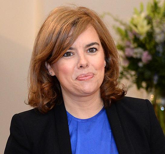 Soraya Sáenz de Santamaría enfermedad
