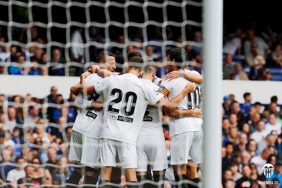 Everton 2 - Valencia CF 3 centenario
