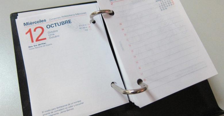 Calendario Laboral 2020.Estos Son Los Festivos Que Formaran Parte Del Calendario