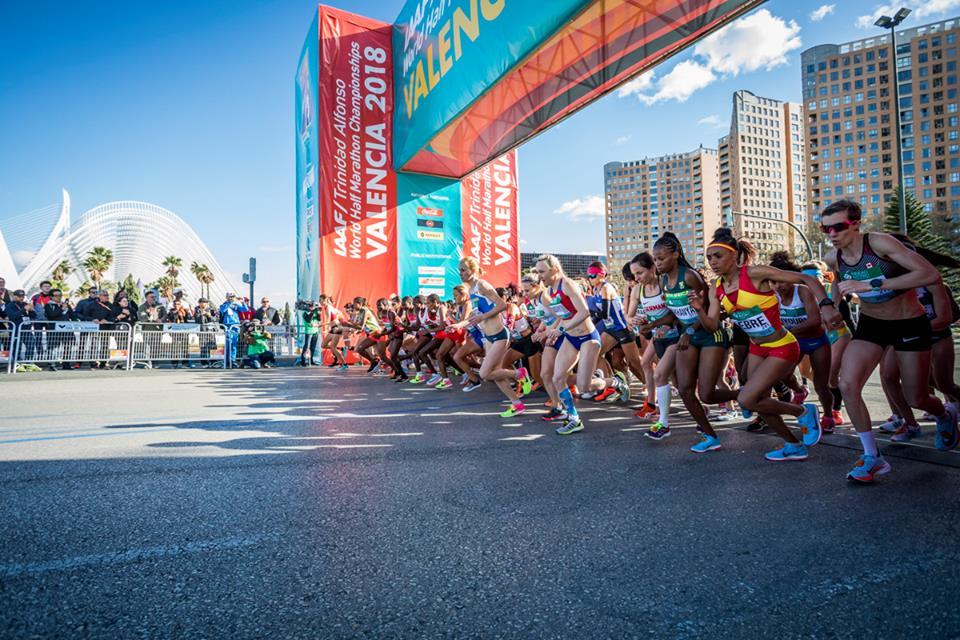 calles cortadas en València este fin de semana por el Medio Maratón