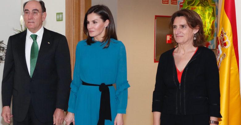 el look de la reina Letizia es de Zara