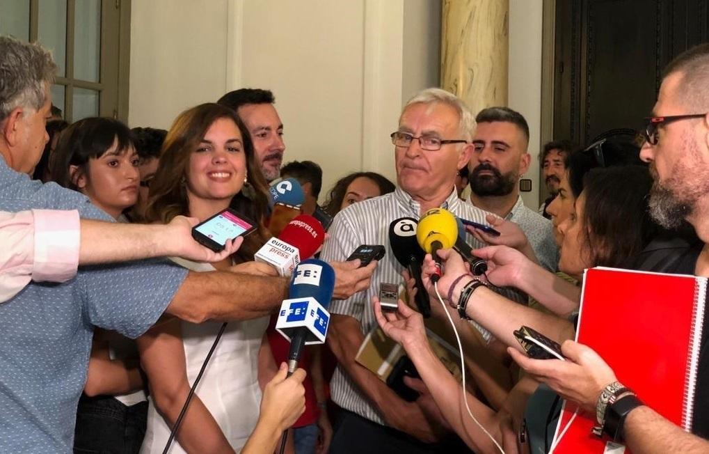 Joan Ribó y Sandra Gómez