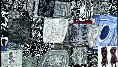 Dramatisation, 12 janvier 1978. Jean Dubuffet. Collection Fondation Dubuffet