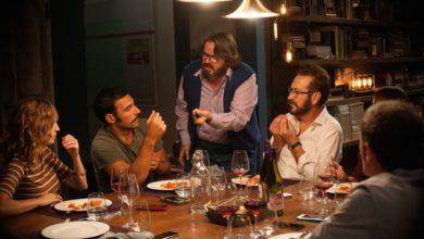 Fotograma de la versión italiana de 'Perfectos Desconocidos'