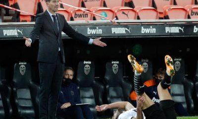 """Gracia: """"La situación del Valencia es preocupante, pero no por mí sino por el equipo"""""""