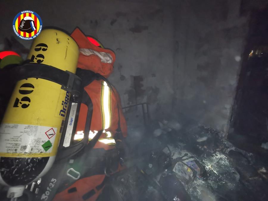 incendio vivienda paiporta