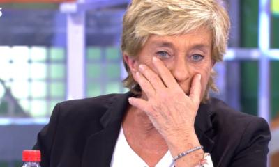 Chelo García Cortés llora en directo la muerta de su hermana