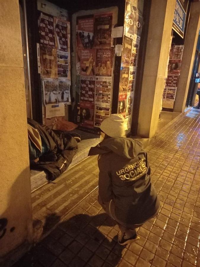 València cubre la mayoría de plazas habilitadas para sintecho por la ola de frío