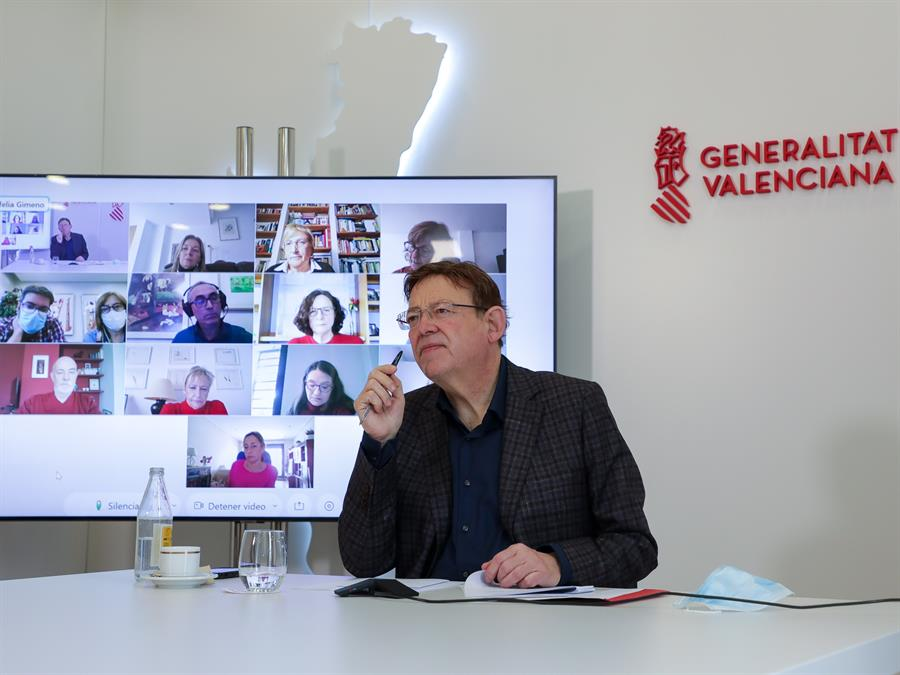 La Comunitat Valenciana tendrá cuatro espacios de vacunación masiva