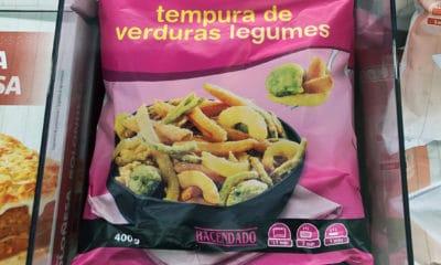 tempura de verduras congelada mercadona