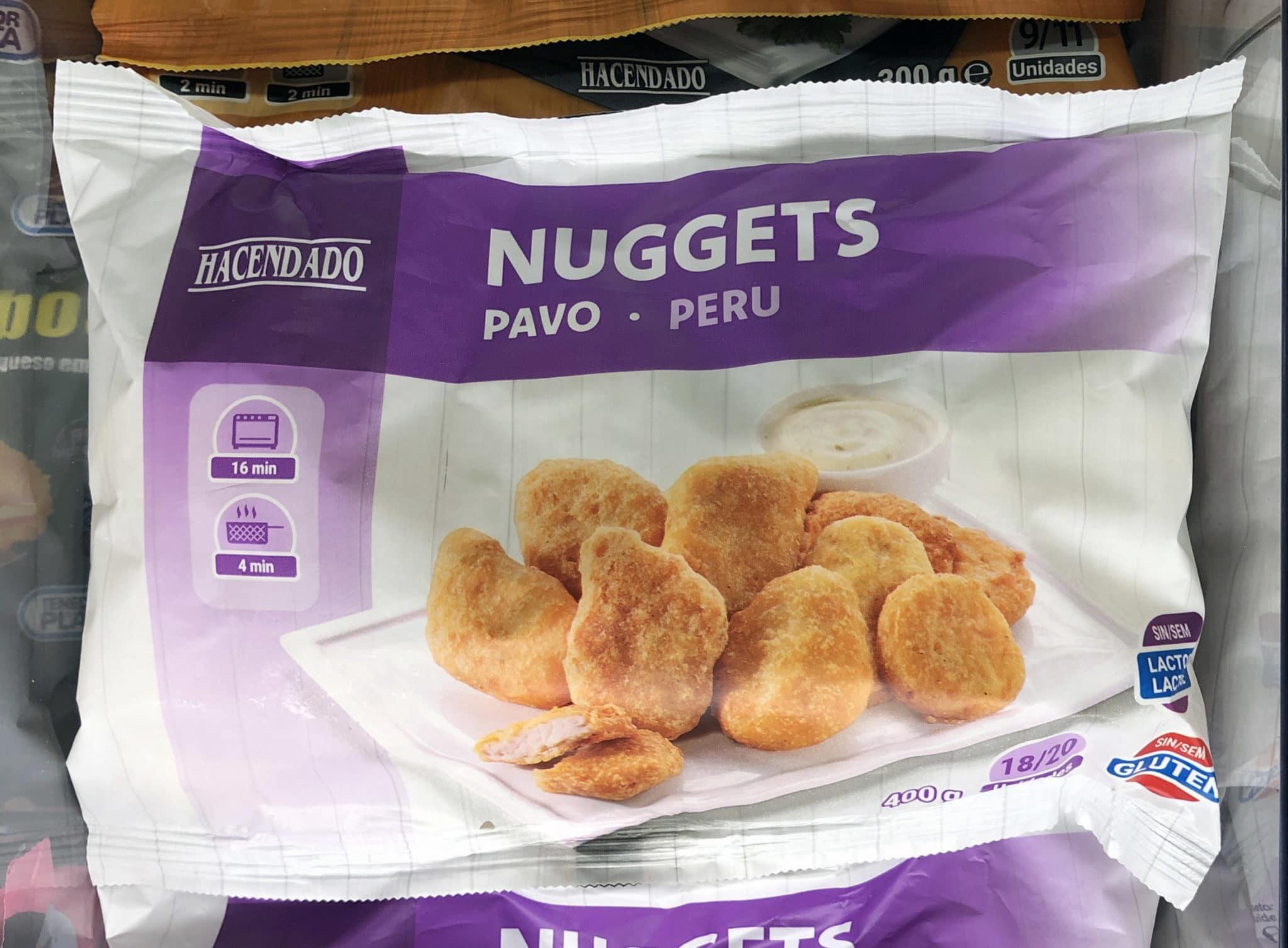nuggets de pavo de Mercadona