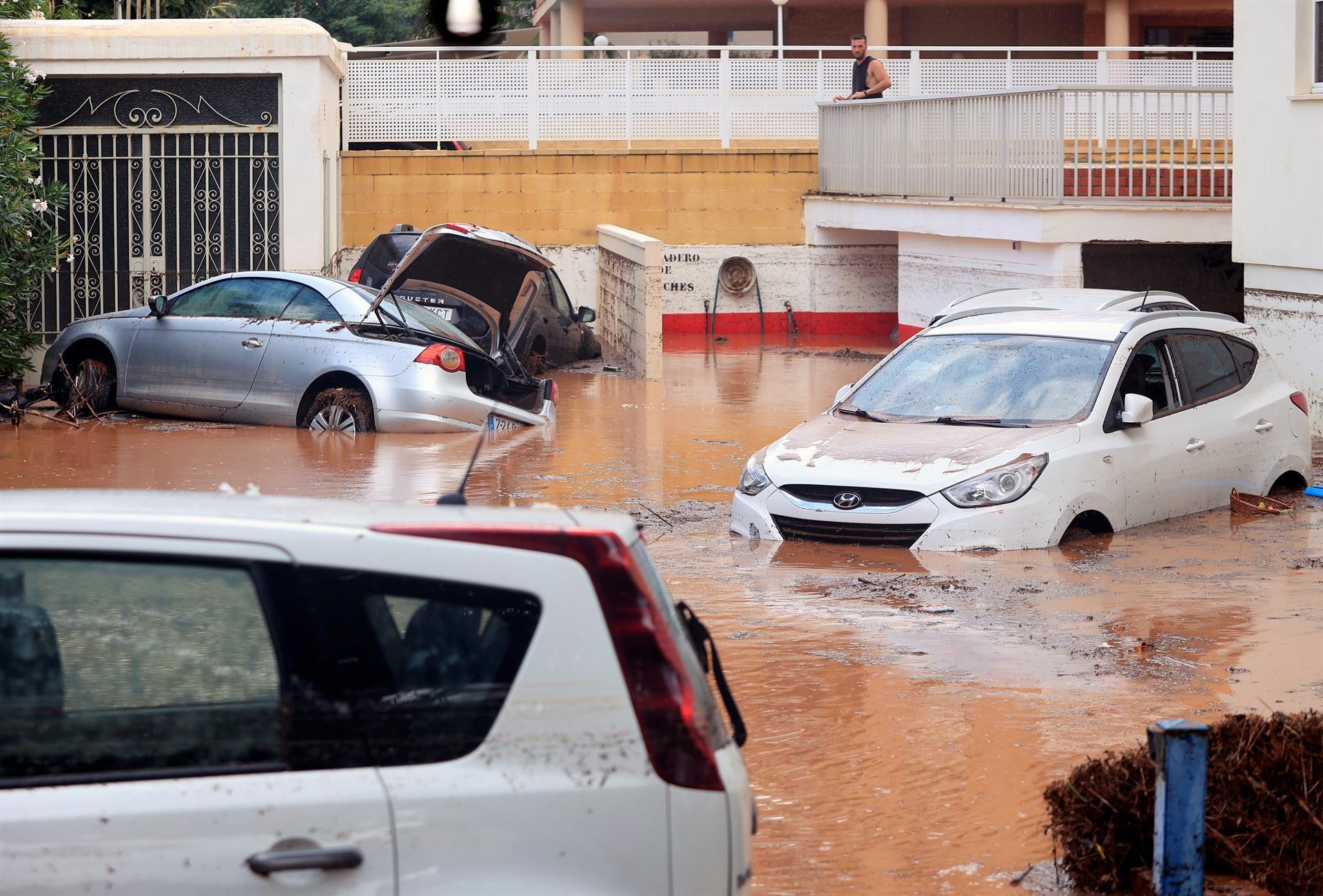 benicassim inundado