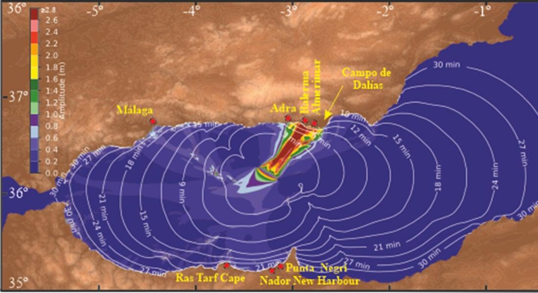 amenaza real de tsunamis en España