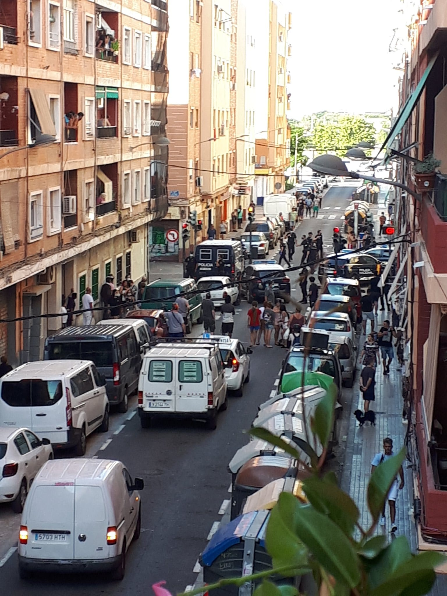 Brutal pelea en el barrio de Orriols de Valencia