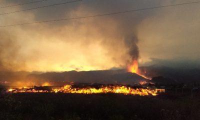 Última hora del volcán de La Palma