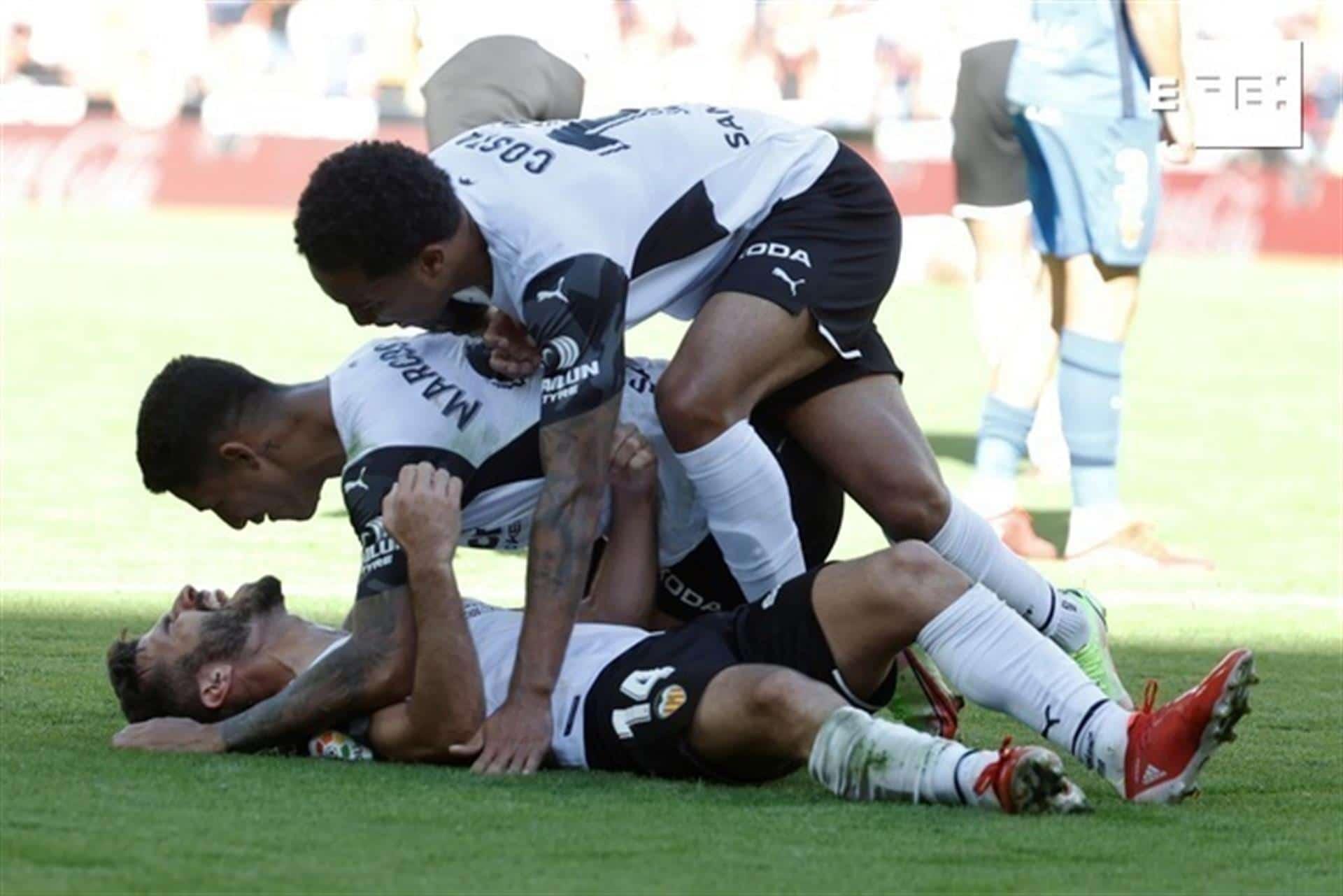 El Valencia remonta dos goles en contra en la prolongación (Valencia 2-2 Mallorca)