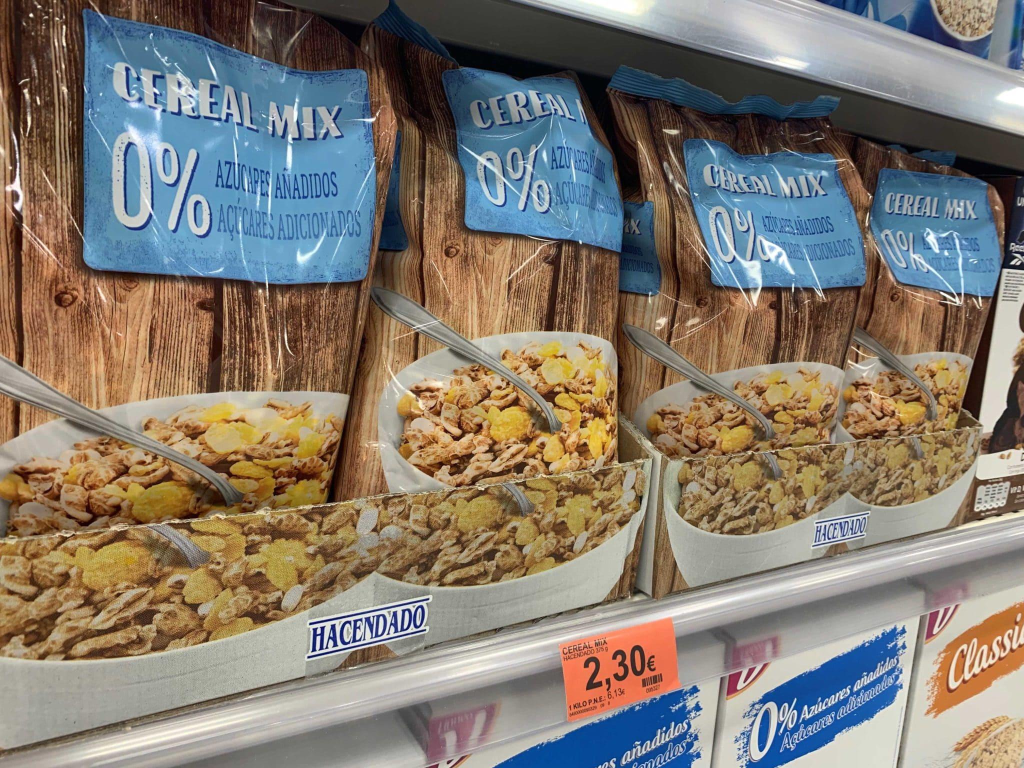 cereales mercadona