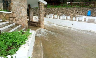 Las lluvias dejan 192 litros en Cullera y 180 en Tavernes de la Valldigna