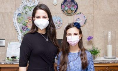 Carmen y Nerea ya han elegido los colores de sus espolines 'Fallera Mayor de València'